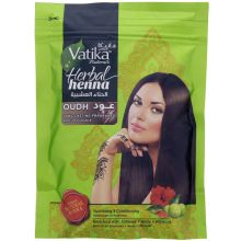 Vatika Herbal Henna Powder for hair (with fragrant Oudh) 200g