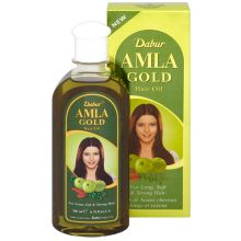Dabur Amla Gold Hair Oil (makes your Hair long, strong, soft & shiny)