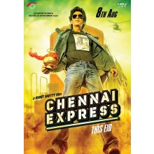 Chennai Express - DVD with Special Features (Shahrukh Khan, Deepika Padukone...)