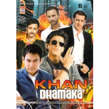 Khan Dhamaka Songs Collection - DVD (Shahrukh, Salman, Aamir, Saif Ali Khan...)