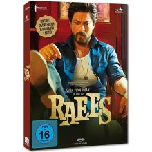 Raees - Special Edition (DVD, Bluray, Poster) German Edition, Shahrukh Khan