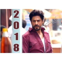 Shahrukh Khan Calender 2018 (13 pages, colored)