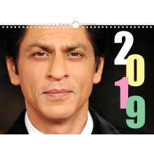 Shahrukh Khan Calendar 2019 (13 pages, colored)