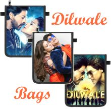 Chest Pouche - Dilwale, 3 Motives (Shahrukh Khan & Kajol) high quality