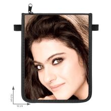 Kajol pouche with adjustable neck strap & zipper , high quality