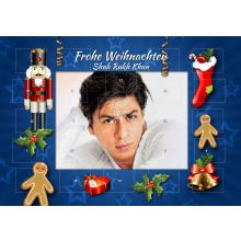 Shahrukh Khan - 25 picture advent calendar (35x25cm)