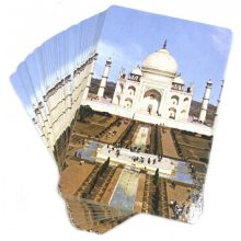 Playing Cards (Taj Mahal) 54 Cards with 52 Depictions