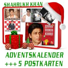 Shahrukh Khan - Advent Calander + 5 Post Cards