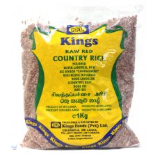 Kings Raw Red Country Rice (Roter Reis) 1kg