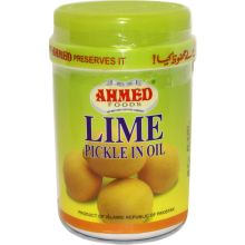 Ahmed Lime Pickle in Öl (Beilage aus Limetten) 1kg