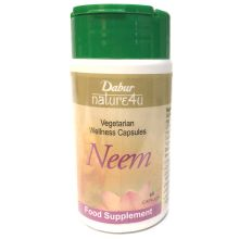 Dabur Neem Capsules (ayurvedic dietary Supplement for improved Health) 60 Capsules