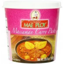 Mae Ploy Massaman Curry Paste (South Thailand Style Curry Paste) 400g