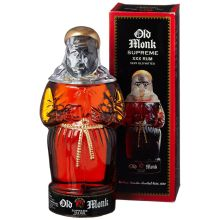 Old Monk Supreme XXX Rum in Monk Bottle (7 years old, 42,8%) 700ml