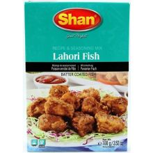 Shan Lahori Fish (Spice mixture for batter coated fish) 100g