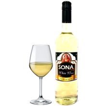 Sona Indian White Wine (Indischer Weißwein) 750ml, 12% Alkohol