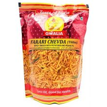 Gwalia Snacks - Ferari Chewda (Spicy Snack with Potatoes & Peanuts) 200g