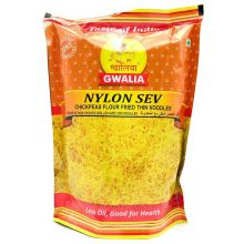 Gwalia Snacks - Nylon Sev (Chickpeas Flour Fried Thin Noodles) 200g