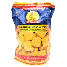 Gwalia Snacks - Sandwich Bhakharwadi (Crispy & Tasty Layered Snacks) 200g