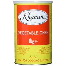 Khanum Pure Vegetable Ghee (Pflanzenfett) 1kg