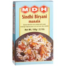 MDH Sindhi Biryani Masala (for rice cooked with meat) 100g