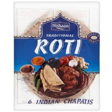 Nishaan Traditional Roti (Indische Chapattis) 350g