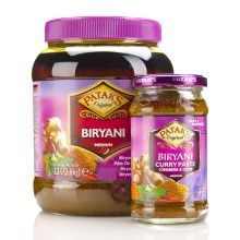 Patak Biryani Curry Paste - MEDIUM (Koriander und Kümmel) 280g