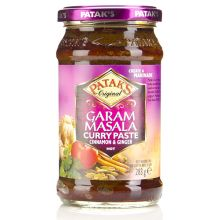 Patak Garam Masala Curry Paste - HOT (Cinnamon and Ginger) 280g