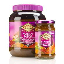 Patak Madras Curry Paste - HOT (Cumin and Chilli) 280g