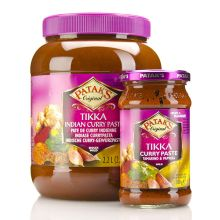 Patak Tikka Curry Paste - MILD (Tamarind and Paprika) 300g