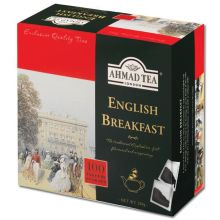 Ahmad English Breakfast Tea - 100 Tea Bags - 200g