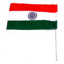 Small Indian Flag for Flailing - Floating even at only a mild breeze