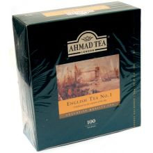 Ahmad English Tea No.1 - 100 Tea Bags (200g)