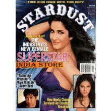 Stardust April 2010 / Bollywood Magazine / Katrina Kaif