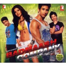 Badmaash Company - Soundtrack + Free Song DVD (2 Disc Set) Shahid Kapoor, Anushka Sharma