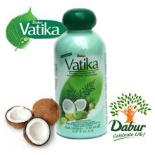 Dabur Vatika Enriched Pure Coconut Hair Oil with Henna, Amla and Lemon
