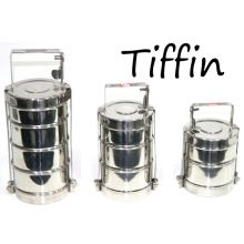 Tiffin, Lunch Box with Lock function from Stainless Steel