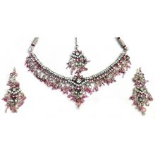 Beautiful 4-Piece Indian Jewellery Set