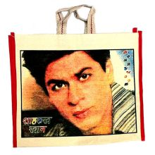 Bollywood Carry Bag - Shahrukh Khan (35x38x15 cm)