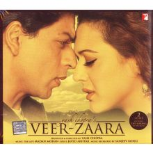 VEER ZAARA (2 CD Set) Shah Rukh Khan