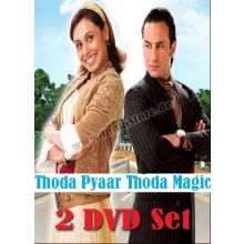 Thoda Pyaar Thoda Magic - DVD with Special Features (Saif Ali Khan, Rani Mukharjee)