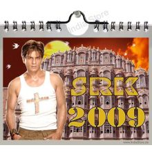 Shahrukh Khan - A3 Calender 2009 (42x30cm) in color - 13 pages