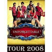 The Unforgetable World Tour 2008 with mega Bollywood Stars ...