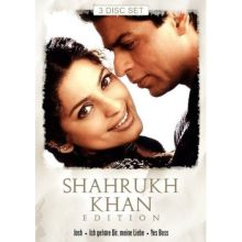 Shahrukh Khan Edition with 3 Movies in German (3 DVD-Set)