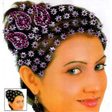 Beautiful Stick-On Hair Accessories