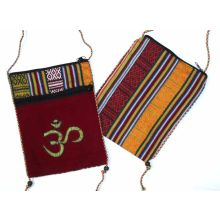 Beautiful Indian Shoulder Bag with Zipper