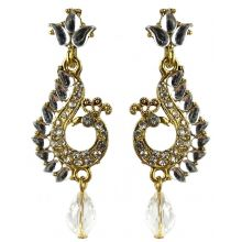 Jhumka - Fancy Earrings in Bollywood Style (Size: 6x2cm)