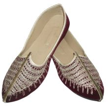 Men Handmade Punjabi Khussa Slippers
