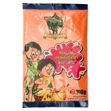 Rangoli Color Powder, Gulal, Non Toxic (Orange) 100g