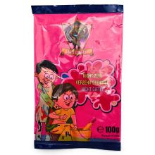 Rangoli Color Powder, Gulal, Non Toxic (Red) 100g
