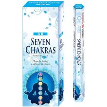 GR Seven Chakras Incense Sticks (6x20g=120g)